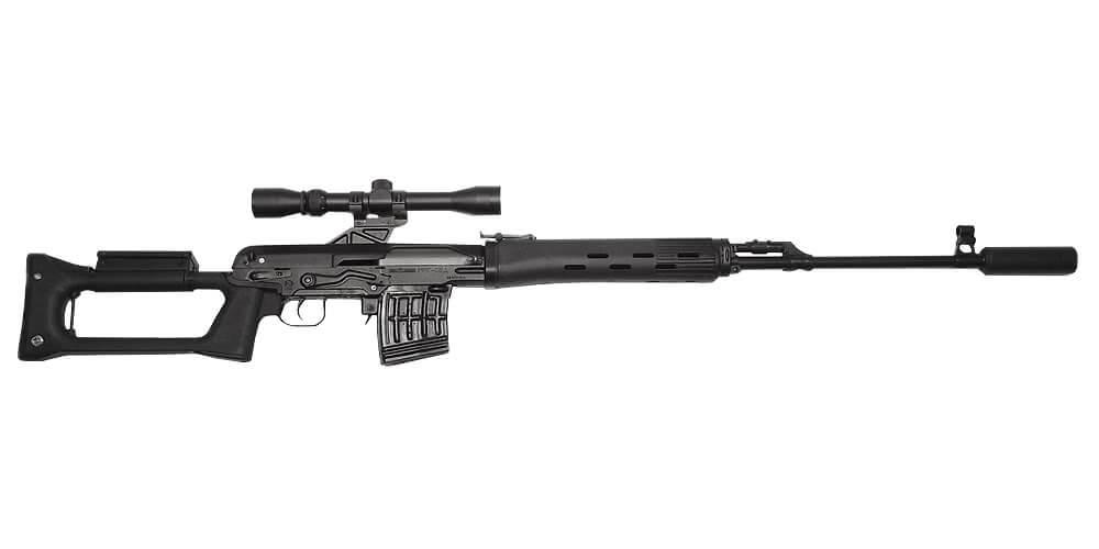 Sniper Rifle LSD SVD