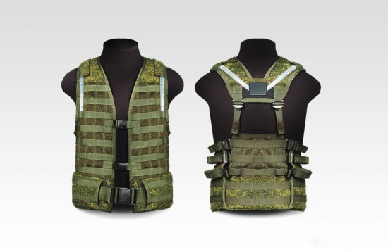 LSD vest with defeats sensors