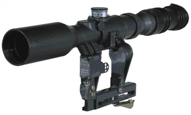 POSP 4X24 Optical Riflescope