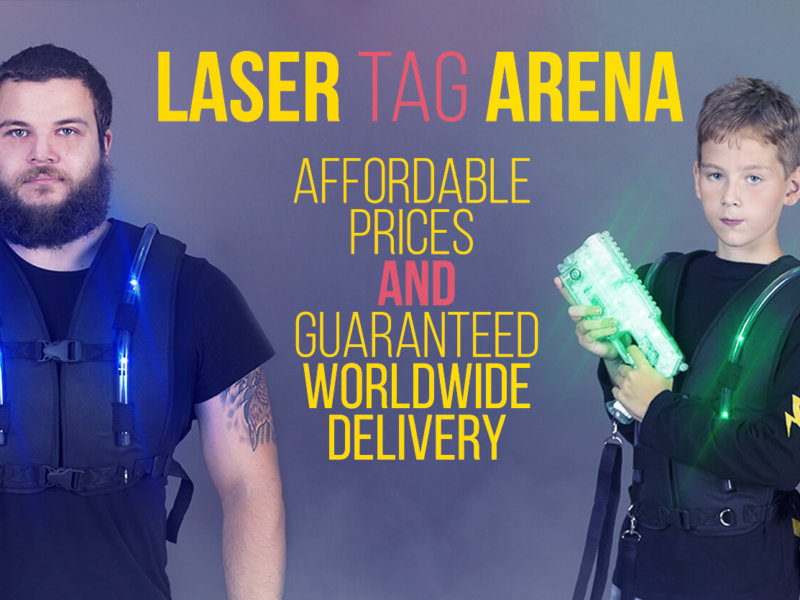 New Laser Tag Arena from LSD ELECTRONICS!