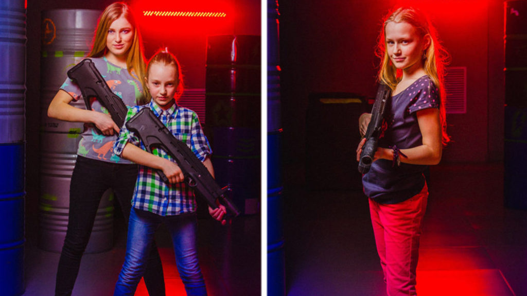 Laser Tag Sets For Kids - Buy Multiplayer Pack With Vests And Guns