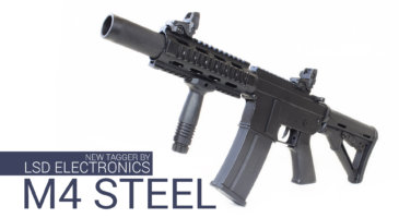 ASSAULT RIFLE M4 STEEL