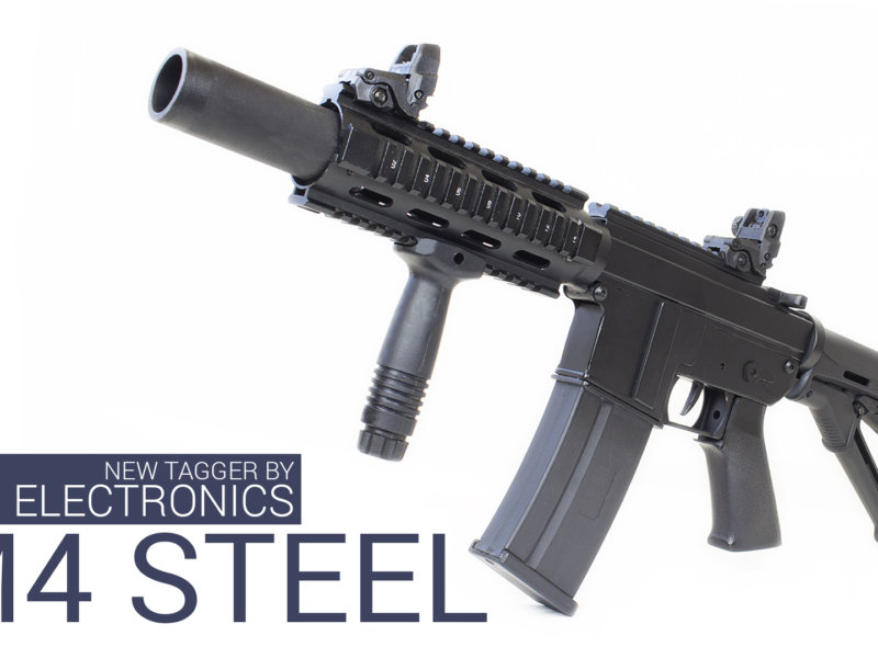 ASSAULT RIFLE M4 STEEL